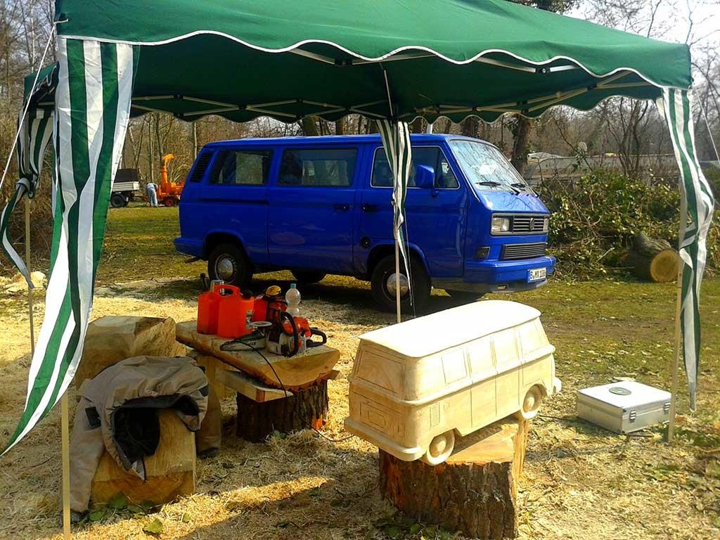 Bulli + Co., Campingplatz Lübben, Lübben, Deutschland, 2013