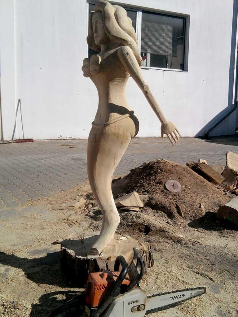 Meerjungfrau, Gallionsfigur Spielschiff, Berlin, Deutschland, 2012 (im Auftrag von ulrich paulig & Co. merry go round™ OHG)