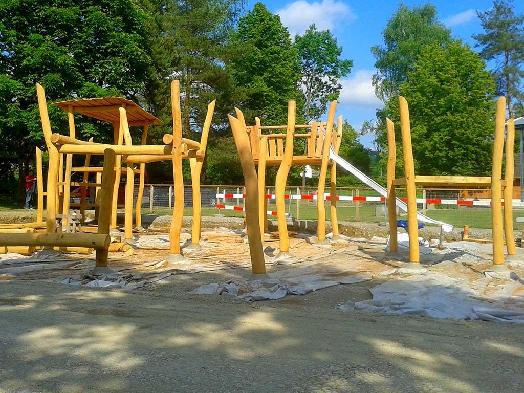 Spielplatz am Stadtweiher, Bülach, Schweiz, 2015